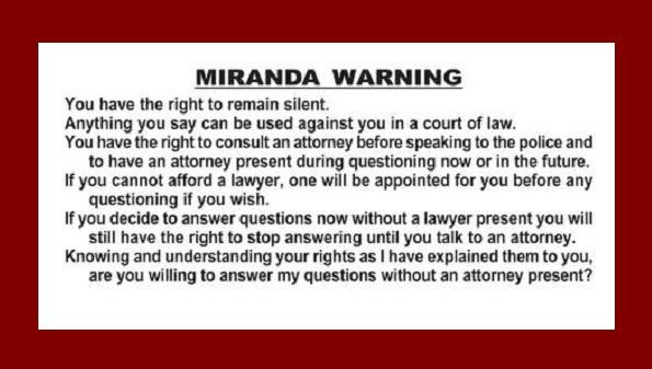 Miramda attorney