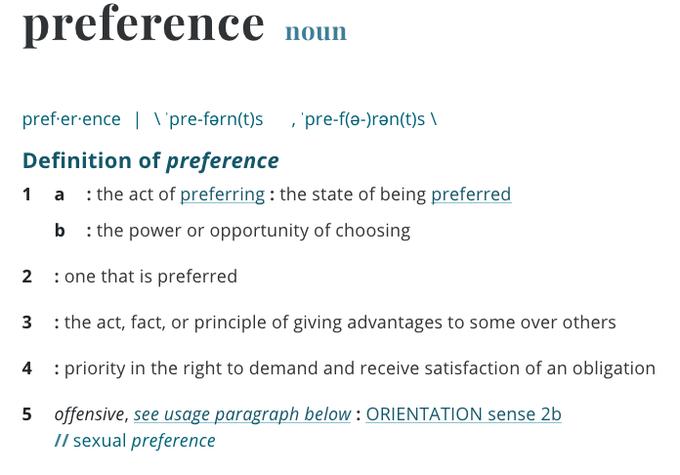 Preference 2