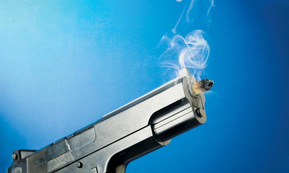 Smoking gun2