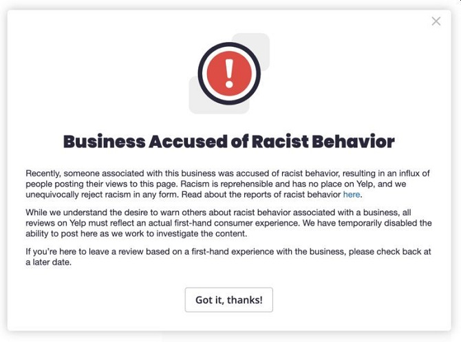 yelp_business_accused_of_racist_behavior_alert_10-8-20