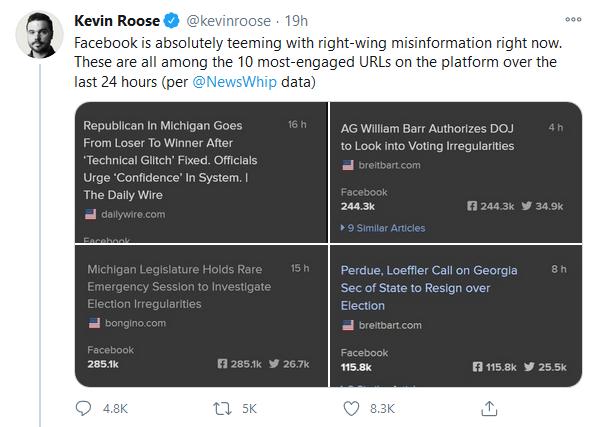 Roose Tweet