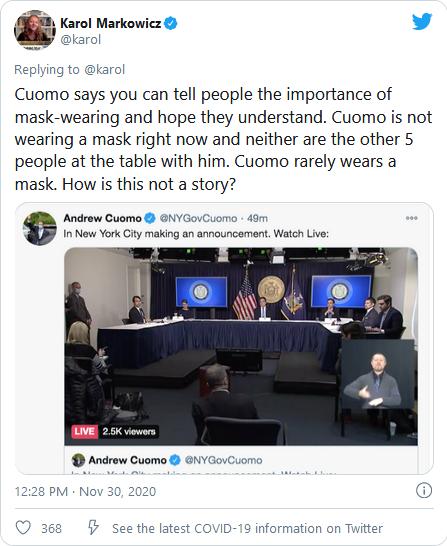 Cuomo masks