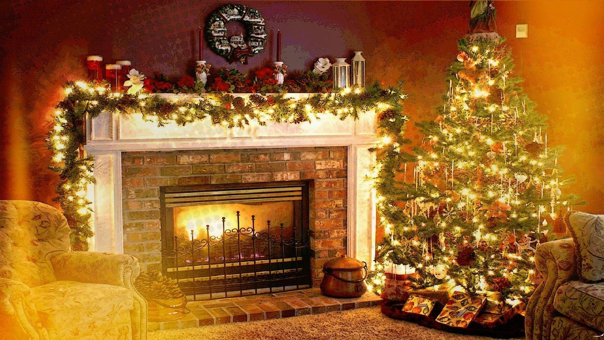 fireplace Xmas