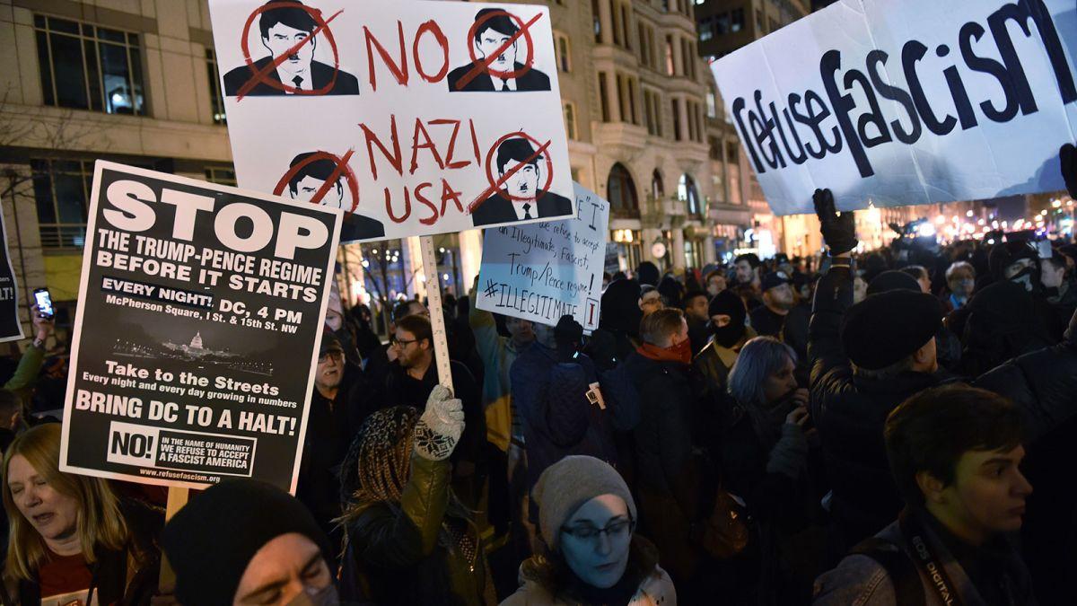 Trump inaug riots
