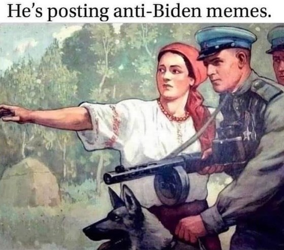 anti-Biden memes meme