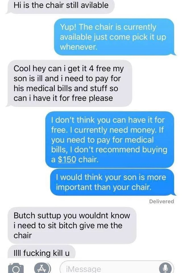 Chair exchange