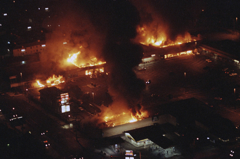 Rodney King Riots Timeline