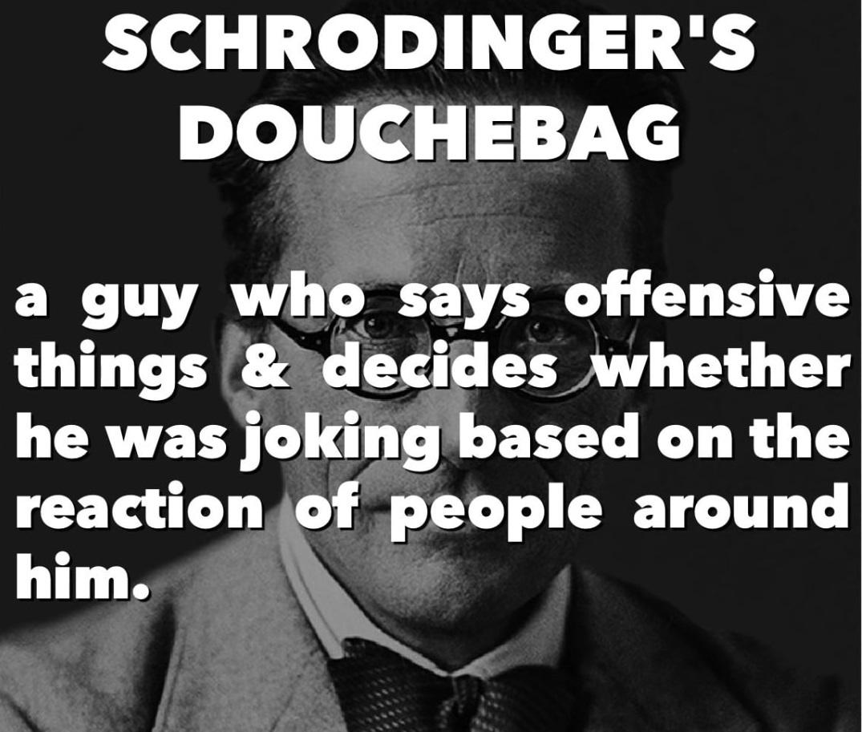 Schodengers douchbag