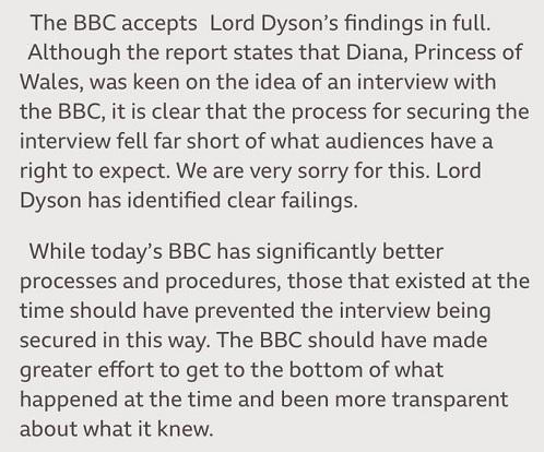 BBC apology