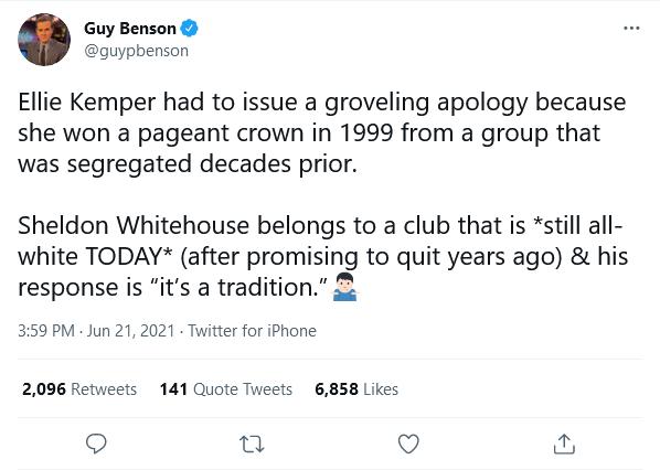 Benson tweet