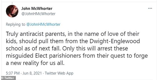 MacWhorter tweet