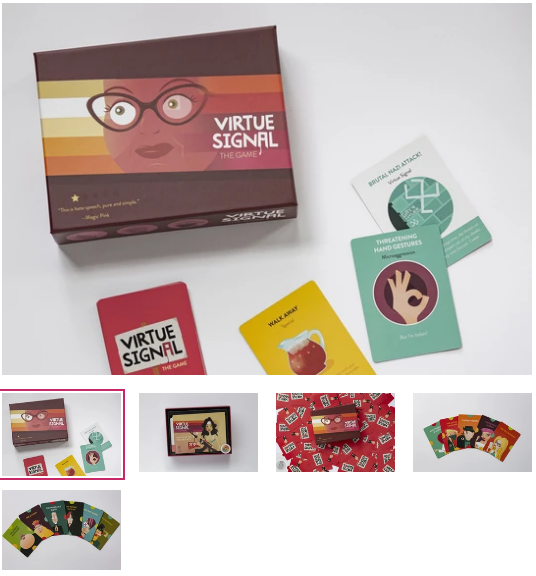 Virtue Signal game
