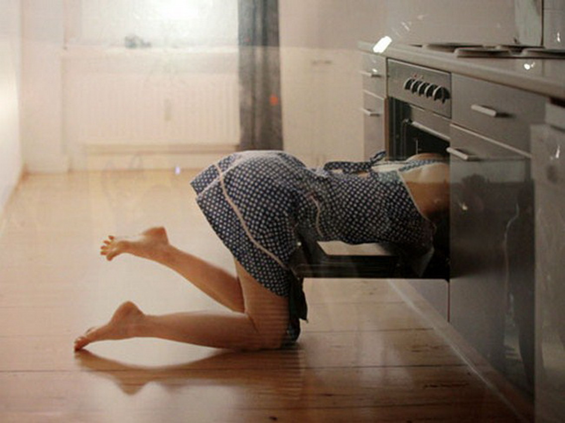 Head in the oven
