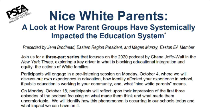 Bad white parents
