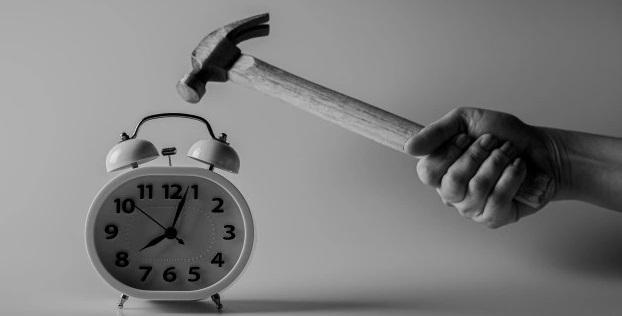 alarm-clock destruction
