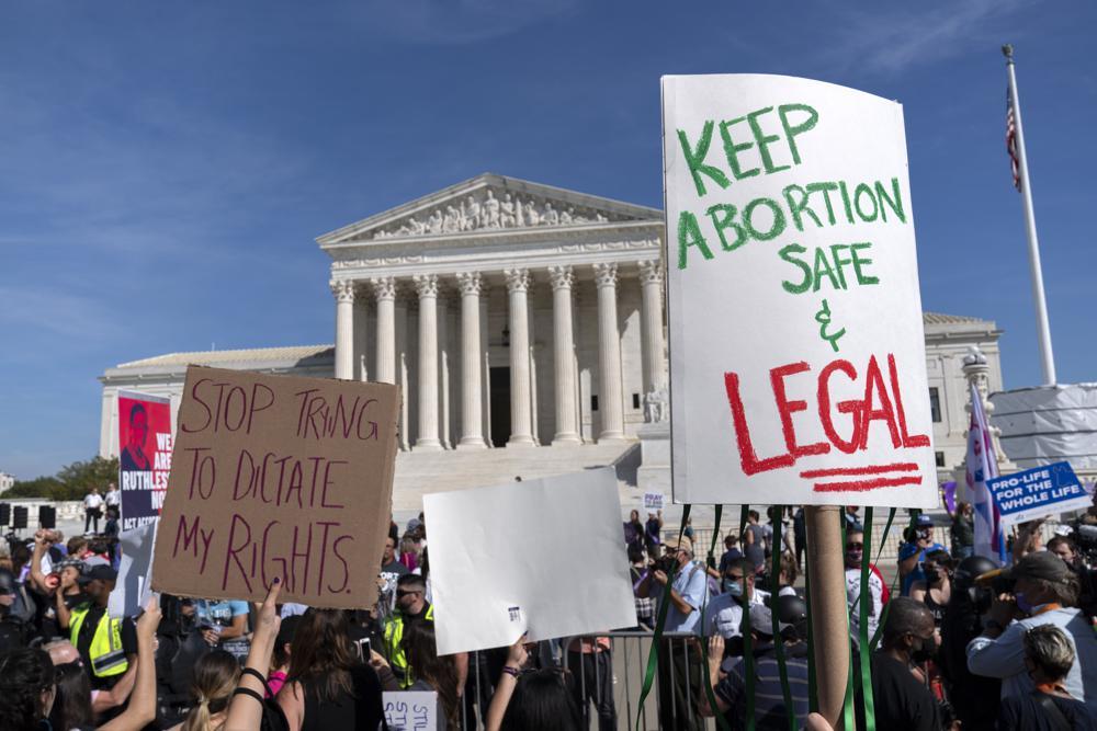 SCOTUS protest
