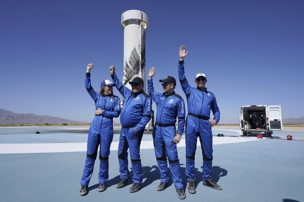 Shatner in space