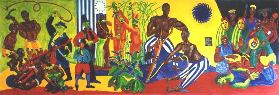 Slavery mural